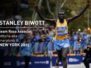 Stanley Biwott vince la maratona di New York